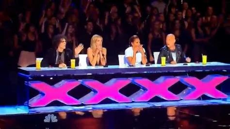 Mime gets rejected, gets mad, and SCARES the judges