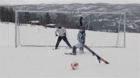 Soccer And Skiing? Yes