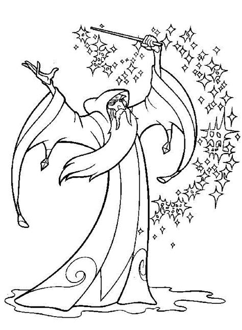 The Magic Sword: Quest for Camelot Printable Coloring Book 20