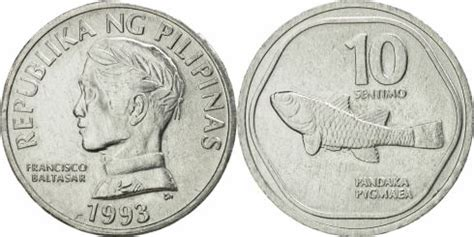 10 Sentimo Philippines 1983-1994, KM# 240   CoinBrothers