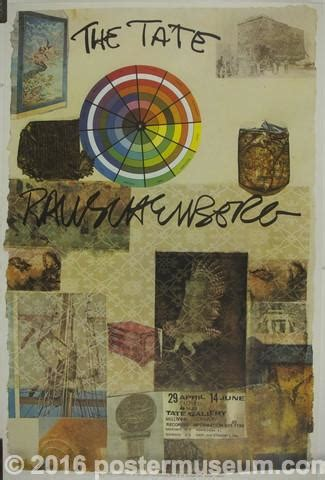 Rauschenberg - The Tate – Poster Museum