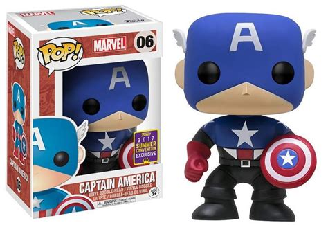 Walgreens SDCC Exclusive Captain America Funko POP! Out