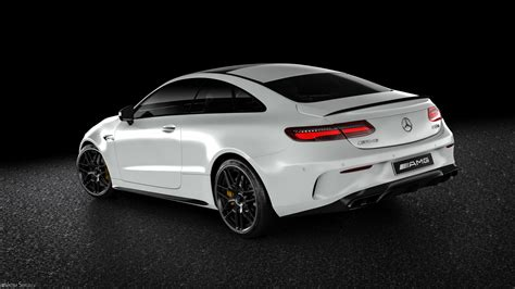 Incredible Mercedes-AMG E63 S Coupe Renderings Show Why It