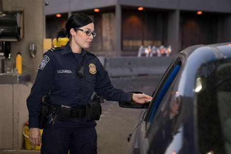CBP , OFO Conduct Inspections Working Primary at San Luis