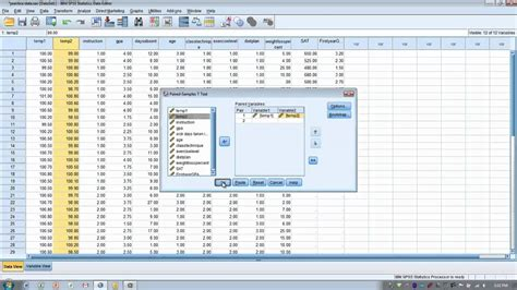 How to Use SPSS: Dependent or Paired Sample t Test - YouTube
