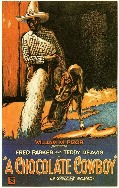 A CHOCOLATE COWBOY (1927) (aka MINE YOUR BUSINESS) - Fred