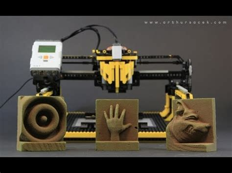 "LEGO 3D Milling Machine - ""3D Printer"" - YouTube"
